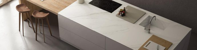 Image of: Calacatta Gris Surface Preview