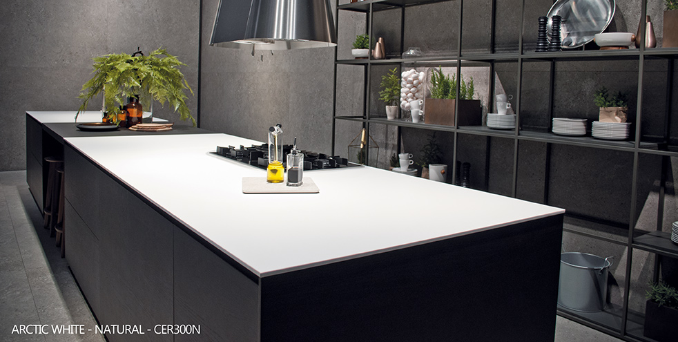 ceralsio monochrome kitchen