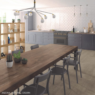 Ceralsio Arizona worktop with wood effect