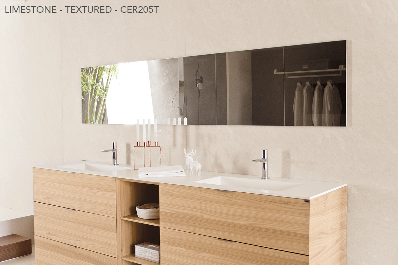 Ceralsio Limestone Bathroom