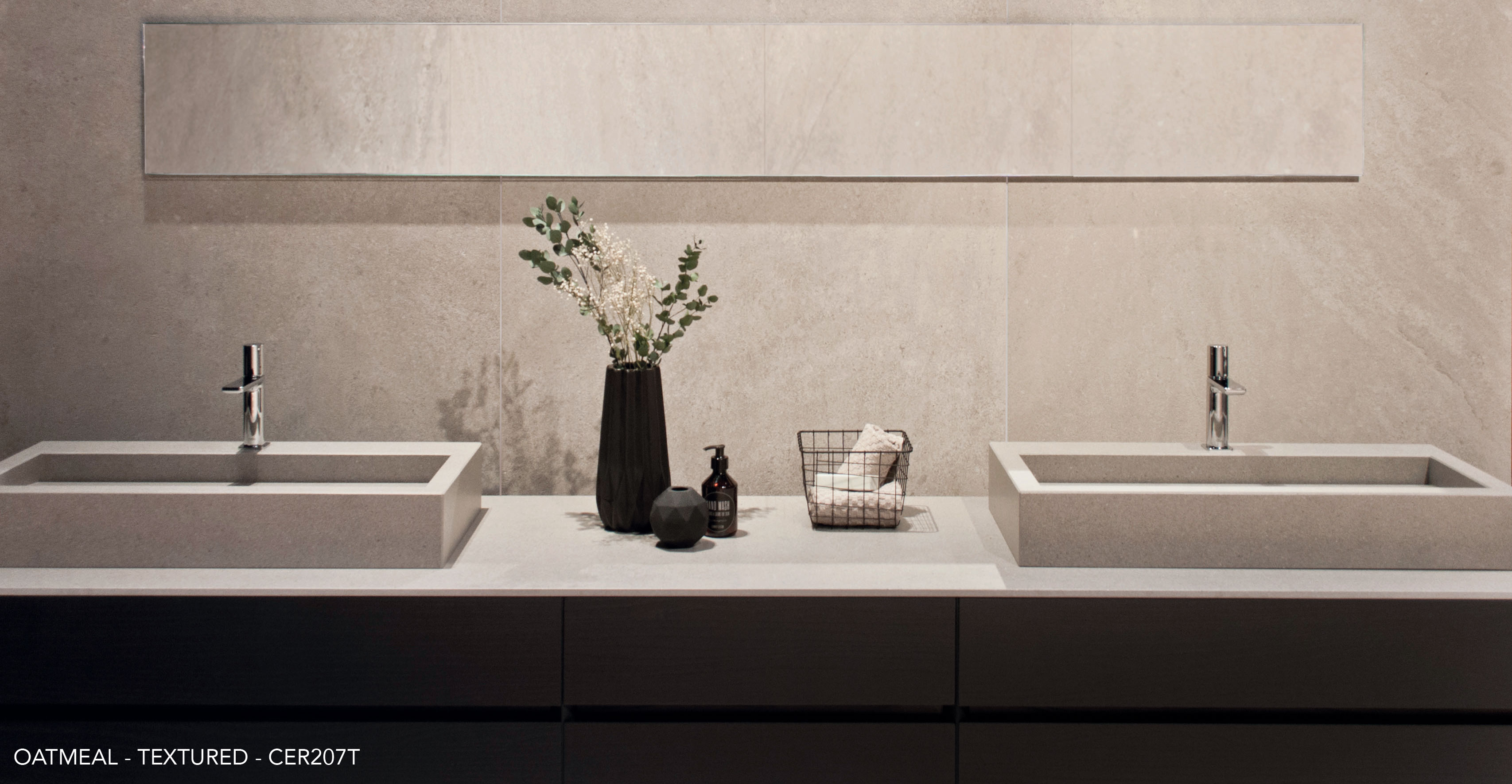 Ceralsio Oatmeal Bathroom tiles