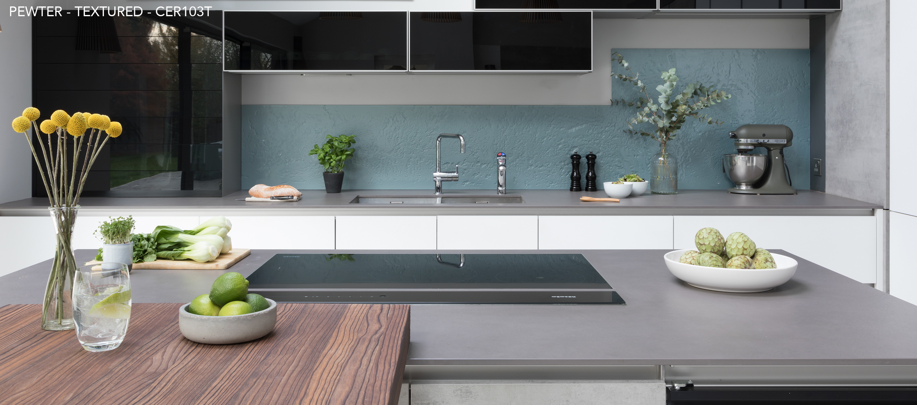 Ceralsio Pewter worktop