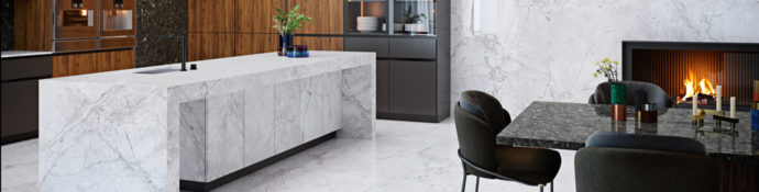 Image of: Bianco Silver Surface Preview