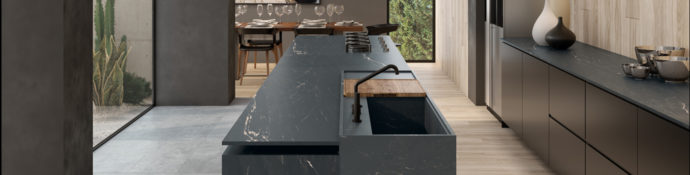 Image of: Belvedere Black Surface Preview